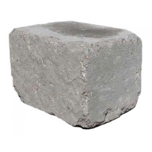 Slået Kantblok 14x21x14cm Grå-31
