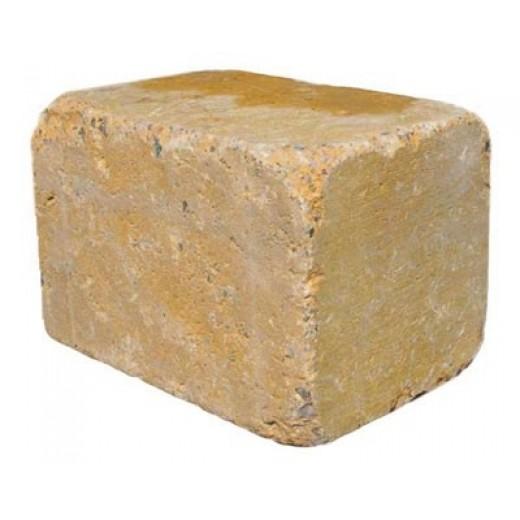 Slået Kantblok 14x21x14cm Gul-31