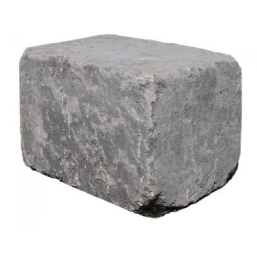 Slået Kantblok 14x21x14cm Sort-31