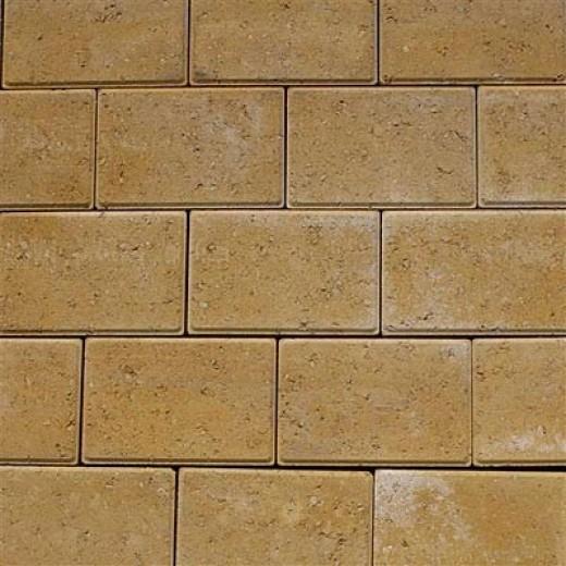 Faset Holmegårdssten 14x21x6cm Gul-31
