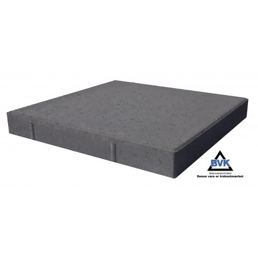 Haveflise 60x60x7cm Sort-31