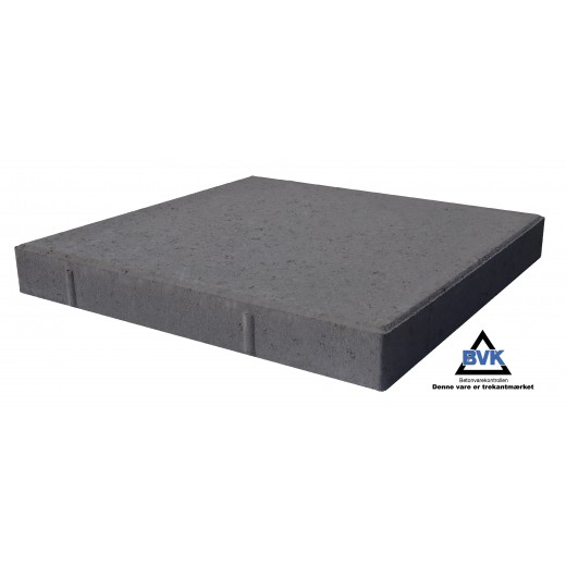 Haveflise 40x40x7cm Sort-31