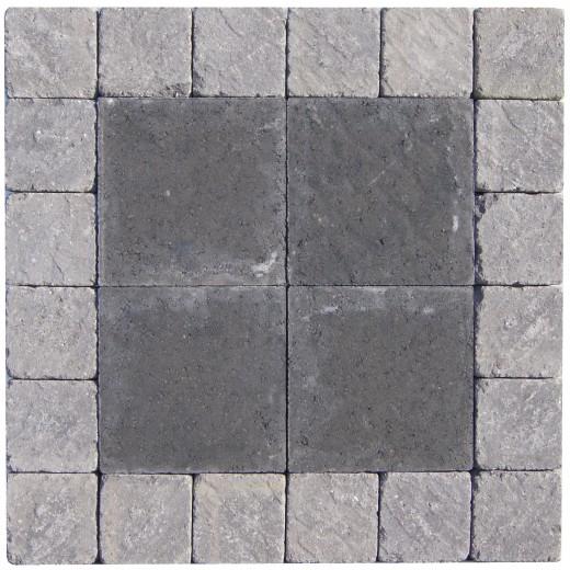 14x14x6cm Slået Grå-31