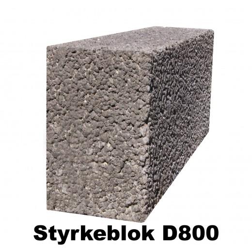 Leca styrkeblok 19x19x49cm D800-31