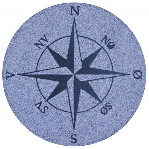 Kompasrose50cmGr-32