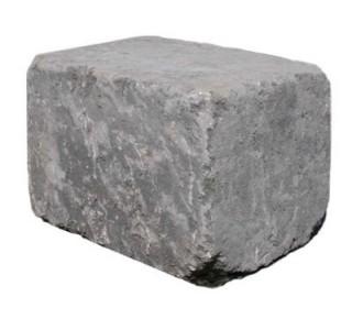 Slået Kantblok 14x21x14cm Sort-20