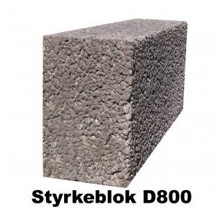 Lecastyrkeblok 12x19x49cm D800-20